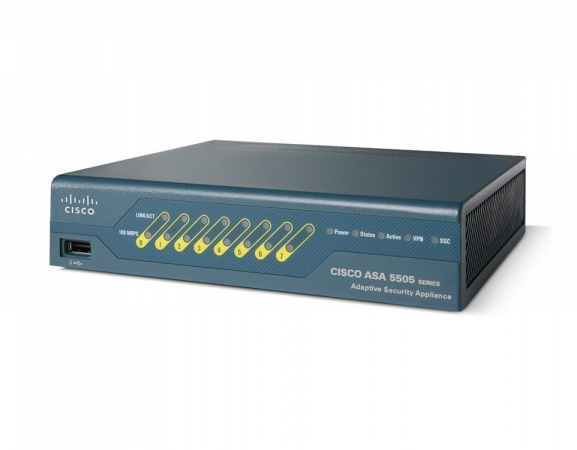 ASA5505-SEC-BUN-K9 - Firewall Cisco ASA 5505 Security Plus Bundle