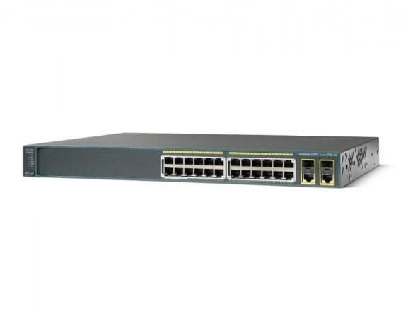 WS-C2960-24PC-L - Switch Cisco Catalyst 2960 24 port PoE