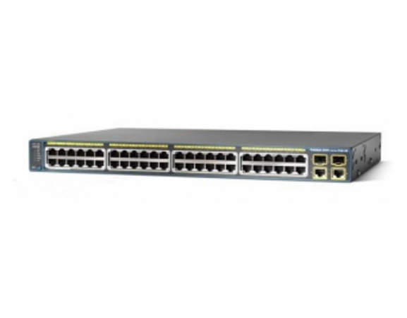 WS-C2960-48PST-L - Switch Cisco Catalyst 2960 48 port PoE