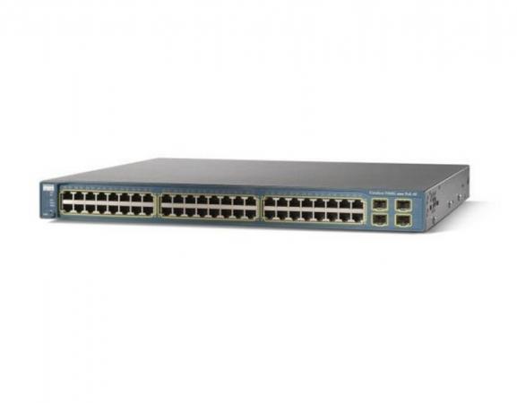 WS-C3560G-48PS-S - Switch Cisco Catalyst 48 port Gigabit PoE