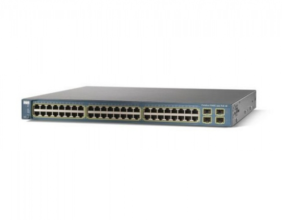 WS-C3560G-48PS-E - Switch Cisco Catalyst 48 port Gigabit PoE