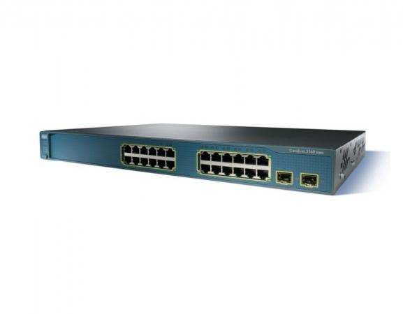 WS-C3560-24TS-E - Switch Cisco Catalyst 24 port
