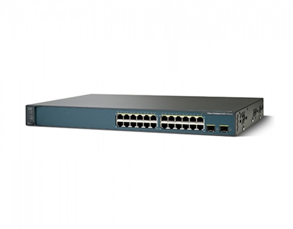 WS-C3560V2-24TS-E - Switch Cisco Catalyst 24 port