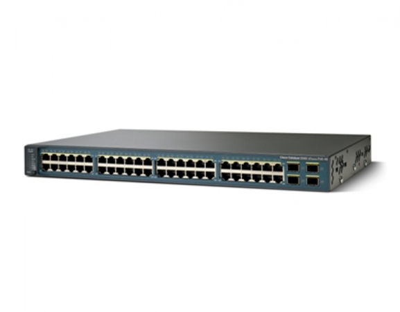 WS-C3560V2-48PS-S - Switch Cisco Catalyst 48 port PoE