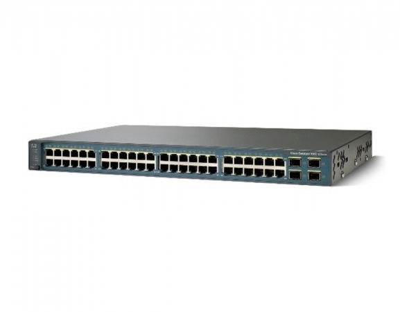 WS-C3560V2-48TS-S - Switch Cisco Catalyst 48 port