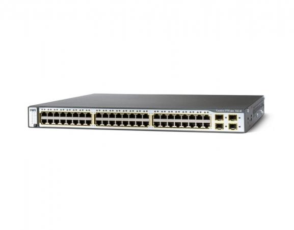 WS-C3750-48PS-E - Switch Cisco Catalyst 48 port PoE