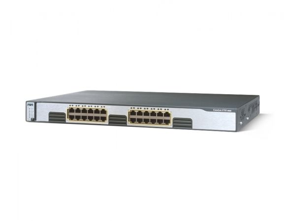 WS-C3750G-24T-S - Switch Cisco Catalyst 24 port Gigabit