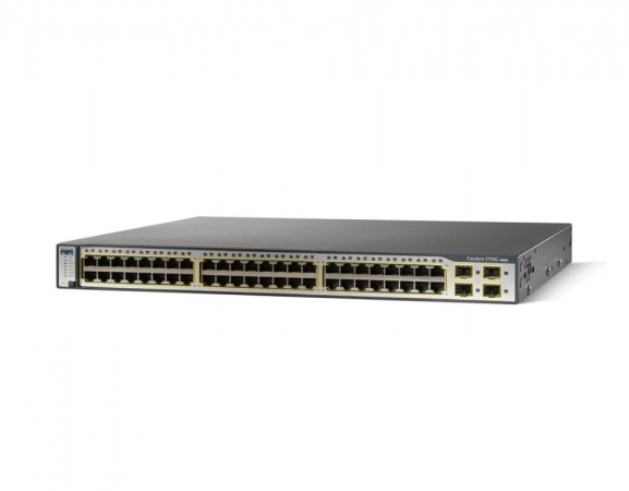 WS-C3750G-48TS-E - Switch Cisco Catalyst 48 port Gigabit
