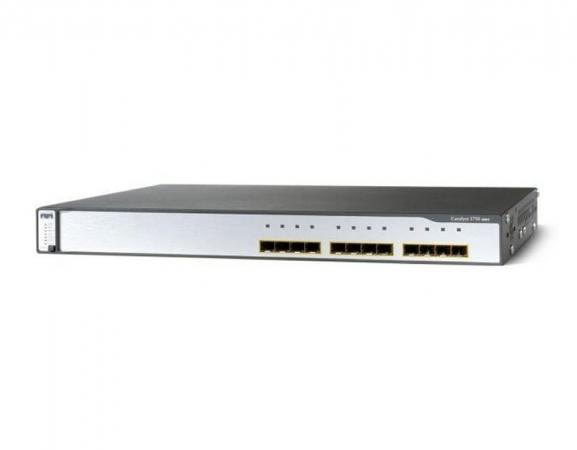 WS-C3750G-12S-E - Switch Cisco Catalyst 12 port SFP
