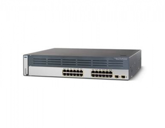 WS-C3750G-24WS-S50 - Switch Cisco Catalyst 24 port Gigabit PoE