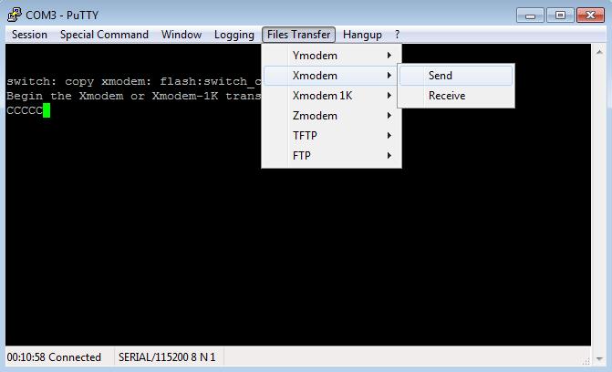 Transfert de l'image d'IOS Cisco 2