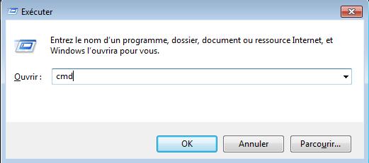 Accéder au terminal du PC sur Windows