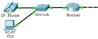 Schéma de l'architecture réseau de type 1